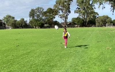 Week 1 – Junior Kicking Girls (5-8) Instruction Focuses